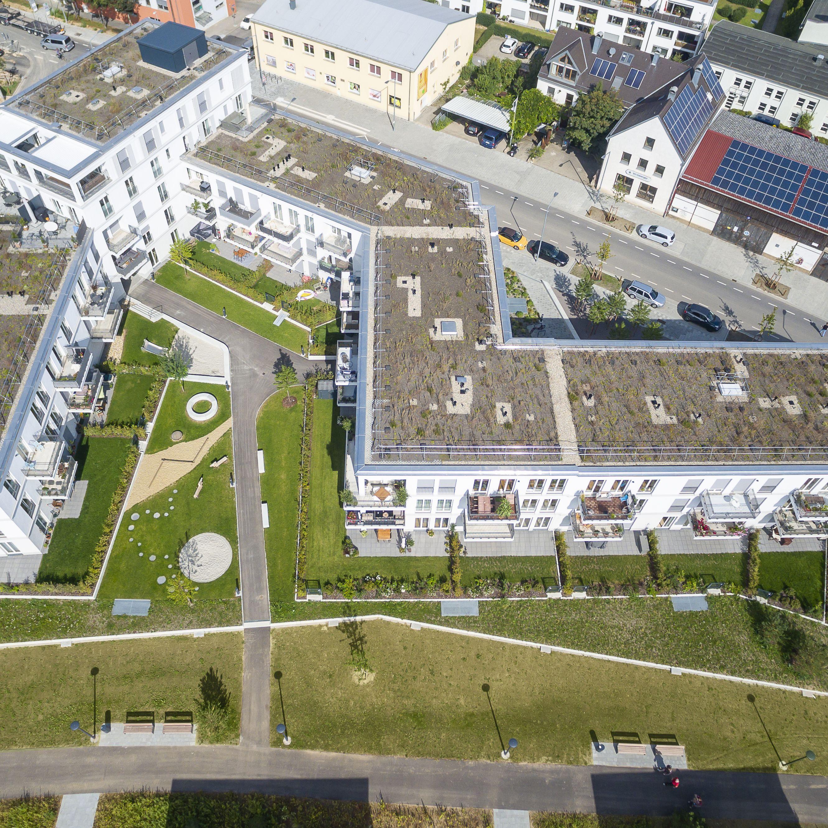 Klassizistischer Wohnungsbau in Regensburg