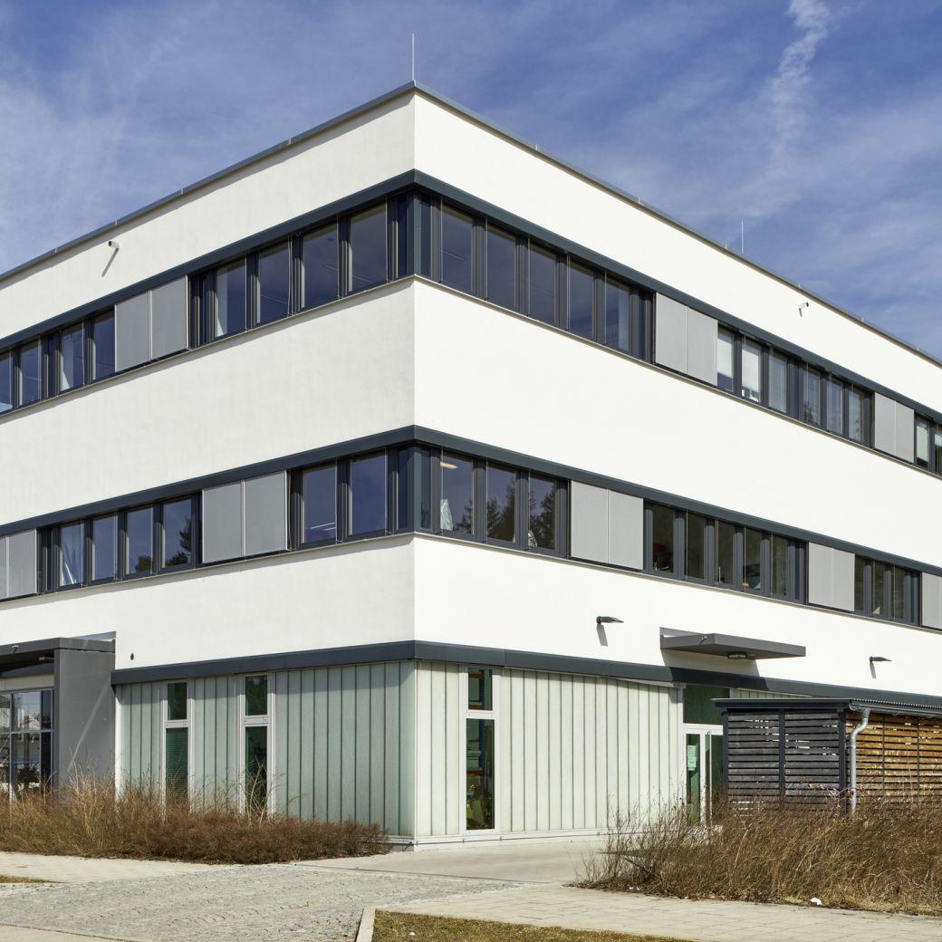 Fassade mit Profilitverglasung